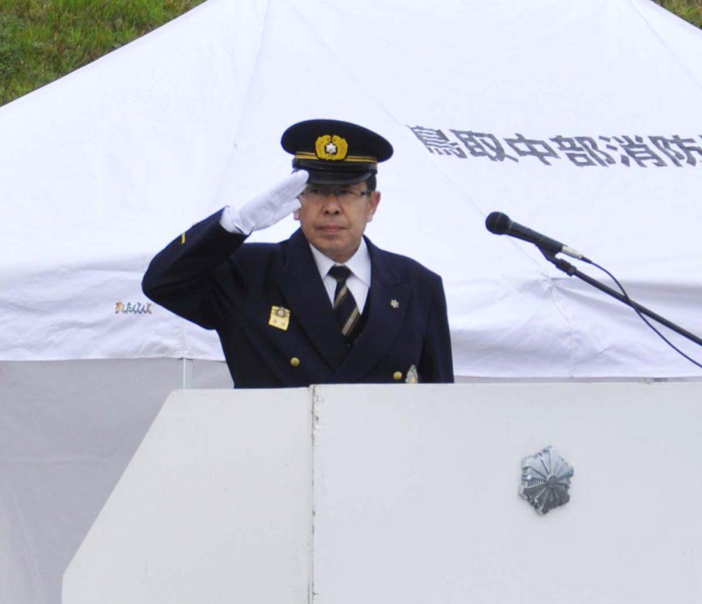 三浦消防局長訓示